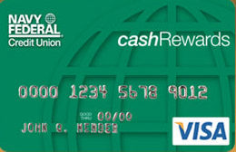 cashRewards Credit Card from Navy Federal Credit Union