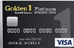 Golden 1 Platinum Rewards Credit Card