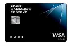 Chase Sapphire Reserve<sup>SM</sup>