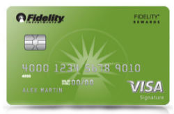 Fidelity<sup>®</sup> Rewards Visa Signature<sup>®</sup> Card