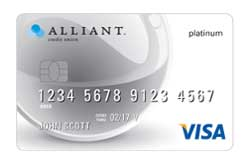 Visa® Platinum Card from Alliant CU