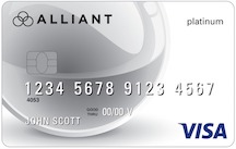 Visa<sup>®</sup> Platinum Card from Alliant CU