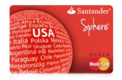 Sphere<sup>®</sup> Credit Card from Santander