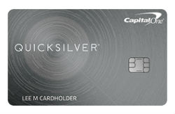 QuicksilverOne® Rewards from Capital One