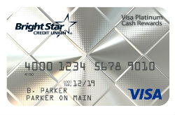 Visa Platinum Cash Rewards from BrightStar CU